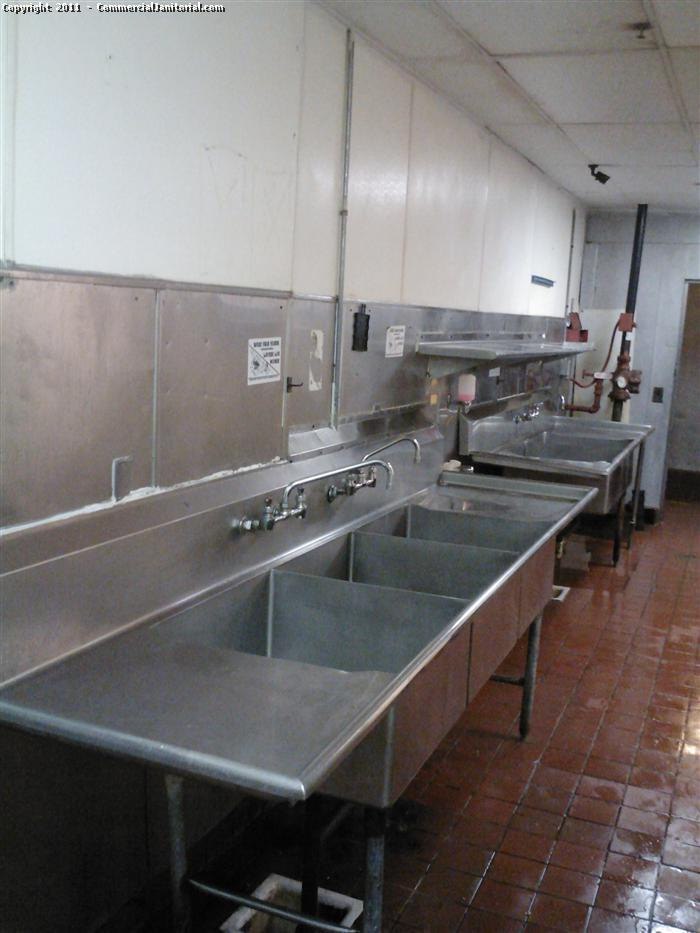 Commercial Kitchen Cleaning  After image