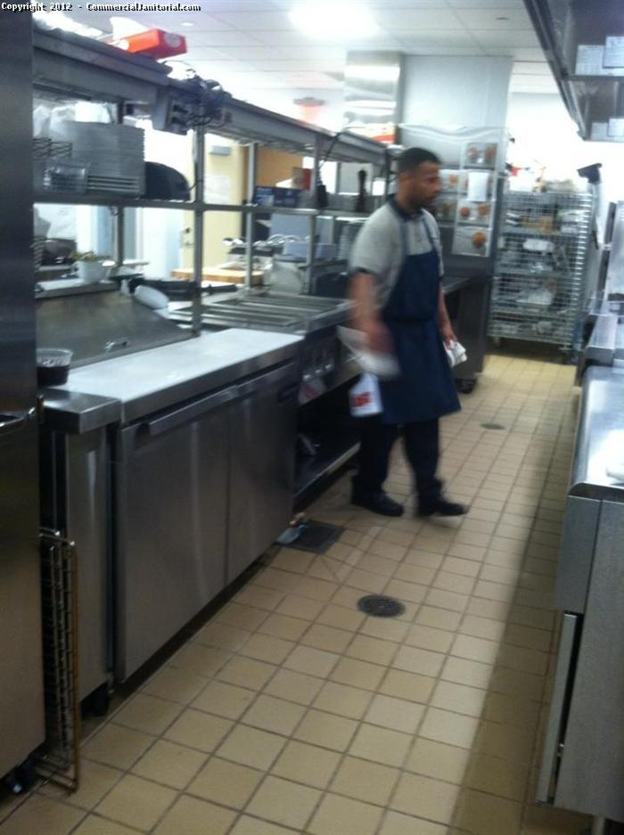 cleaning kitchen floors bar stool commercial floor 2 image