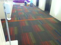 Local corporate office carpet extraction clean up image