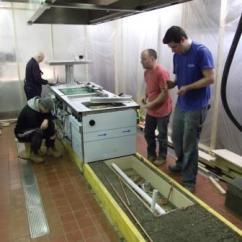 Kitchen Counters White Subway Tile Backsplash Commercial Equipment | Ckd ...