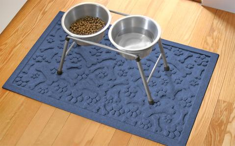 Rubber Mat for Dog Bowls  Dog Water Bowl Mat