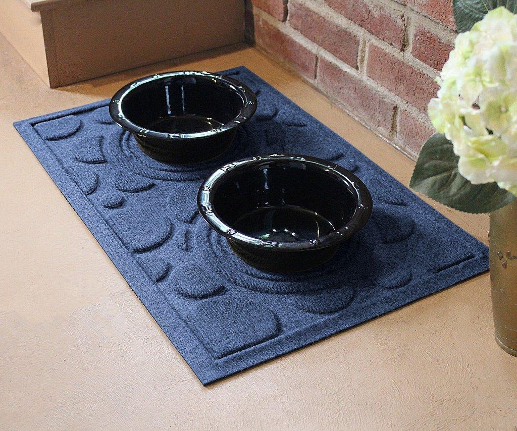 Waterhog Pet Mat  Food  Water Bowl Mat