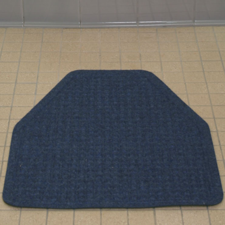 blue chair pads covers for bar chairs urinal mats and | washable