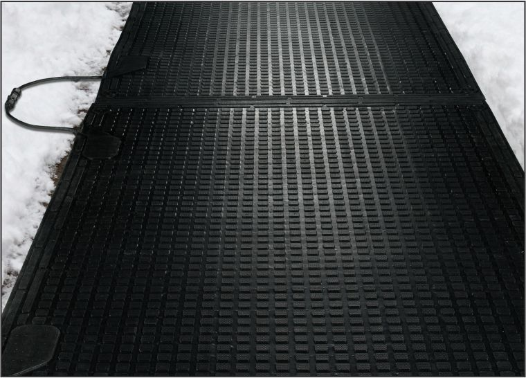 desk chair mats spandex covers ireland melt step snow melting | outdoor heated sidewalk matting