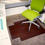 bamboo chair mat amazon kitchen chairs anji mountain desk floor with lip