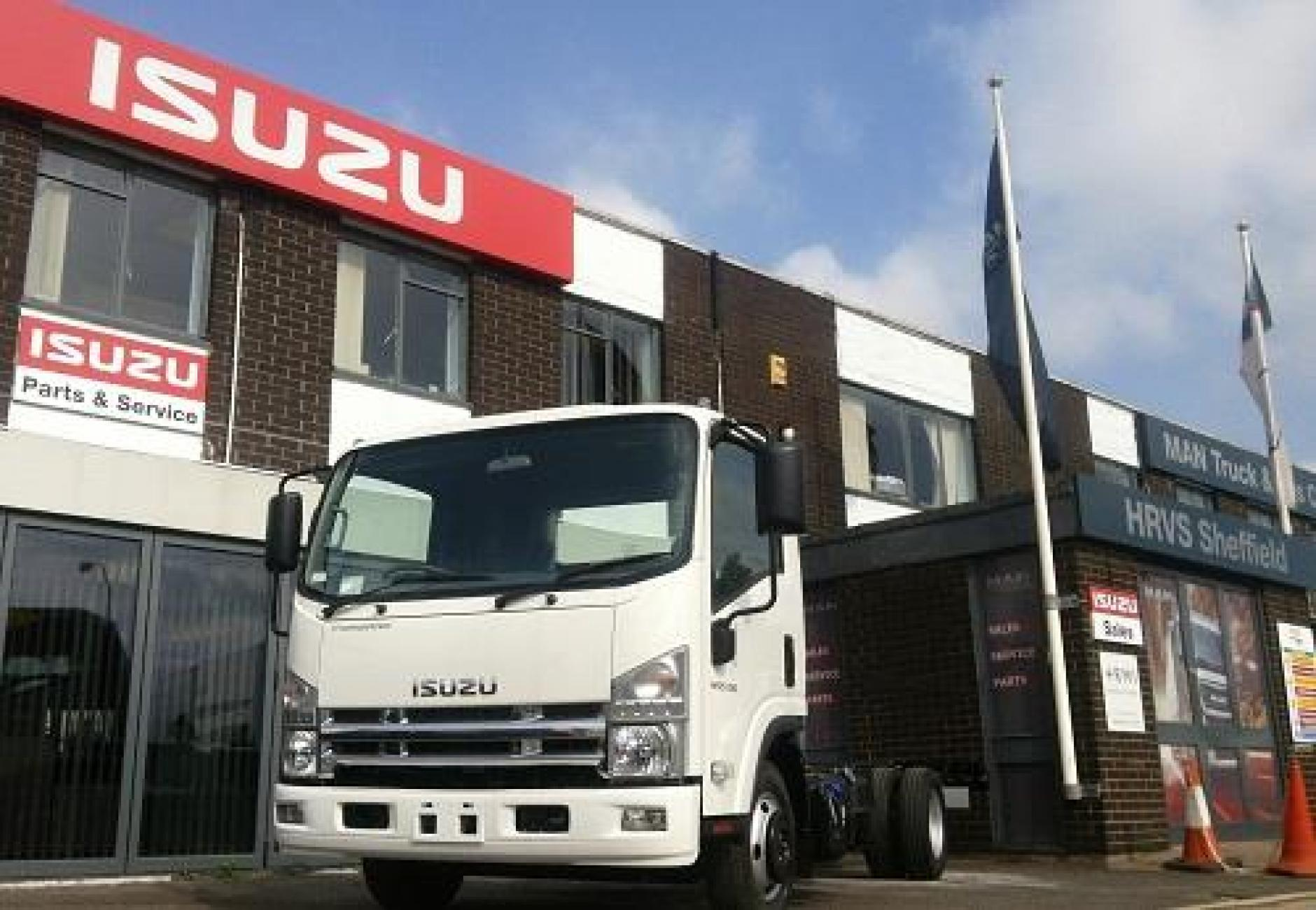 hight resolution of truck dealer hrvs adds the isuzu truck franchise to its sheffield site