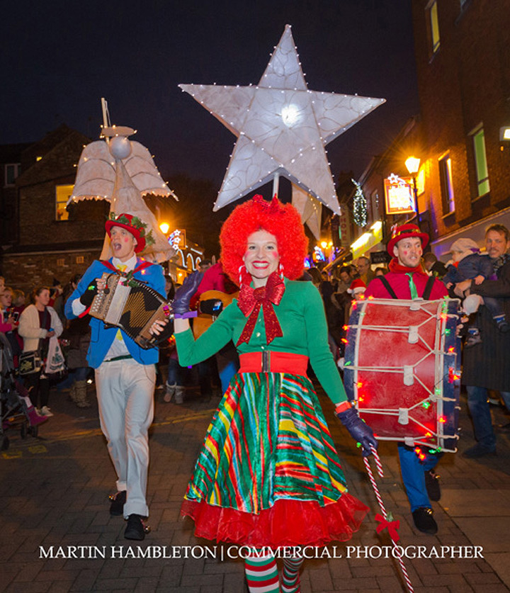 Stamford Quarter lantern parade Christmas