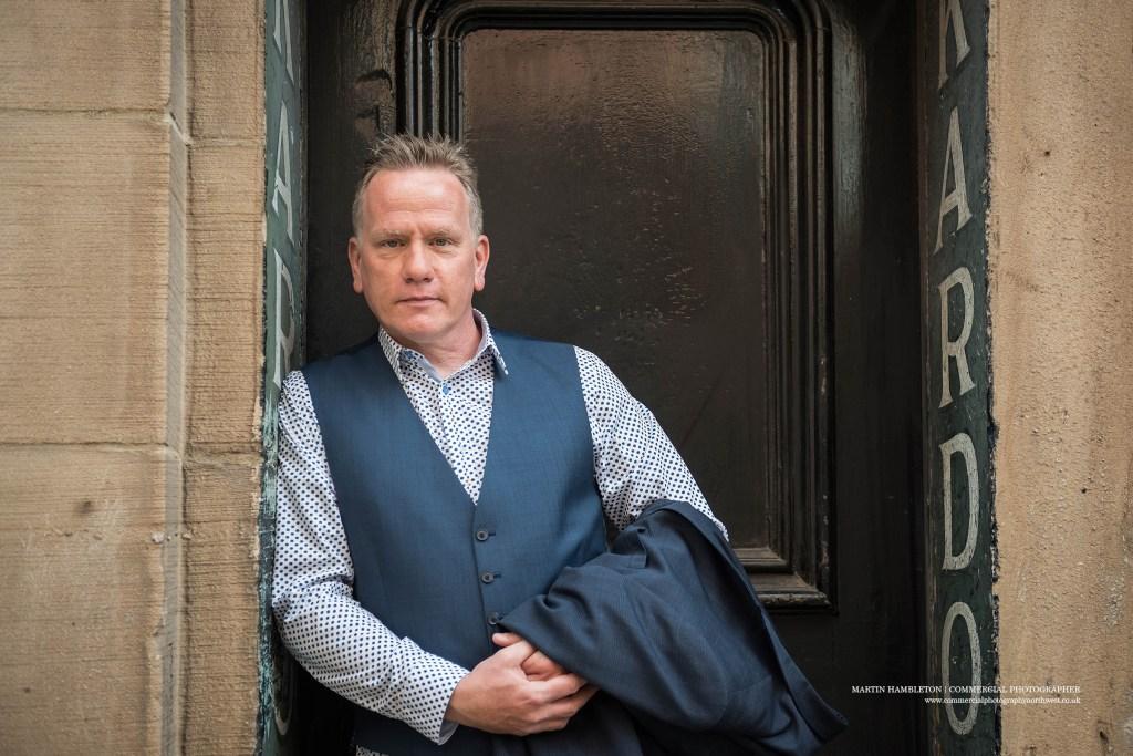 location portrait of Andy Johnson media trainer