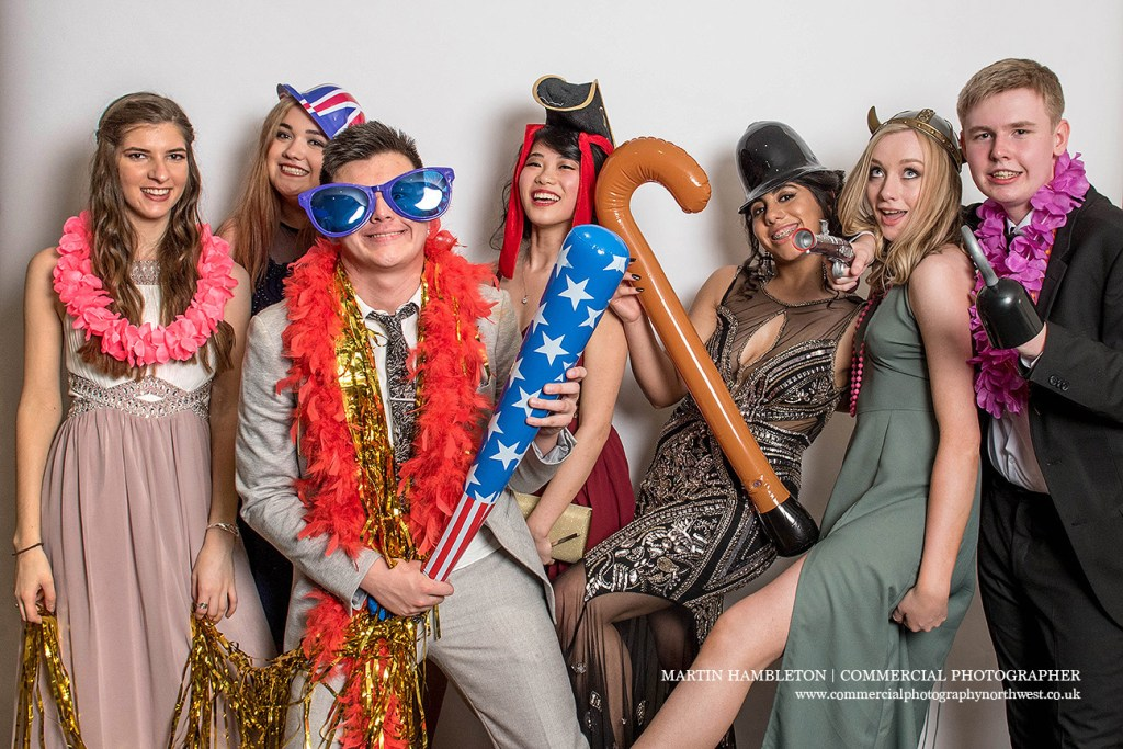 prom photography in fancy dress