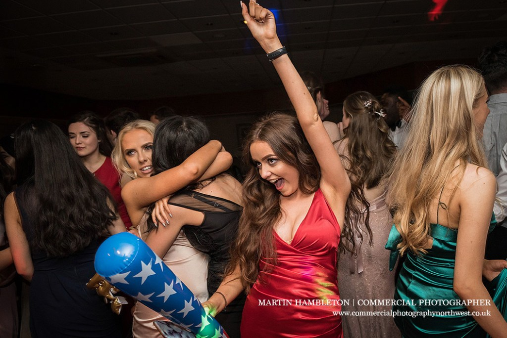 prom photography on the dance floor