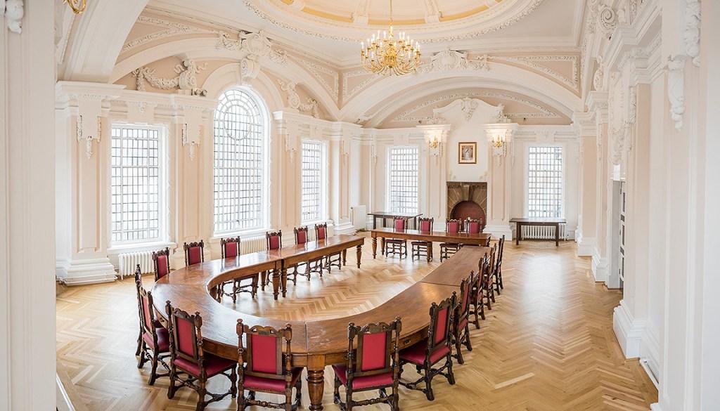 Queen Elizabeth II Room in Stoke Town Hall