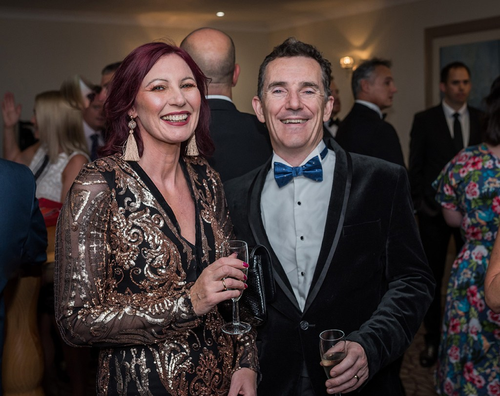 guests at the 2020 altrincham chamber business awards