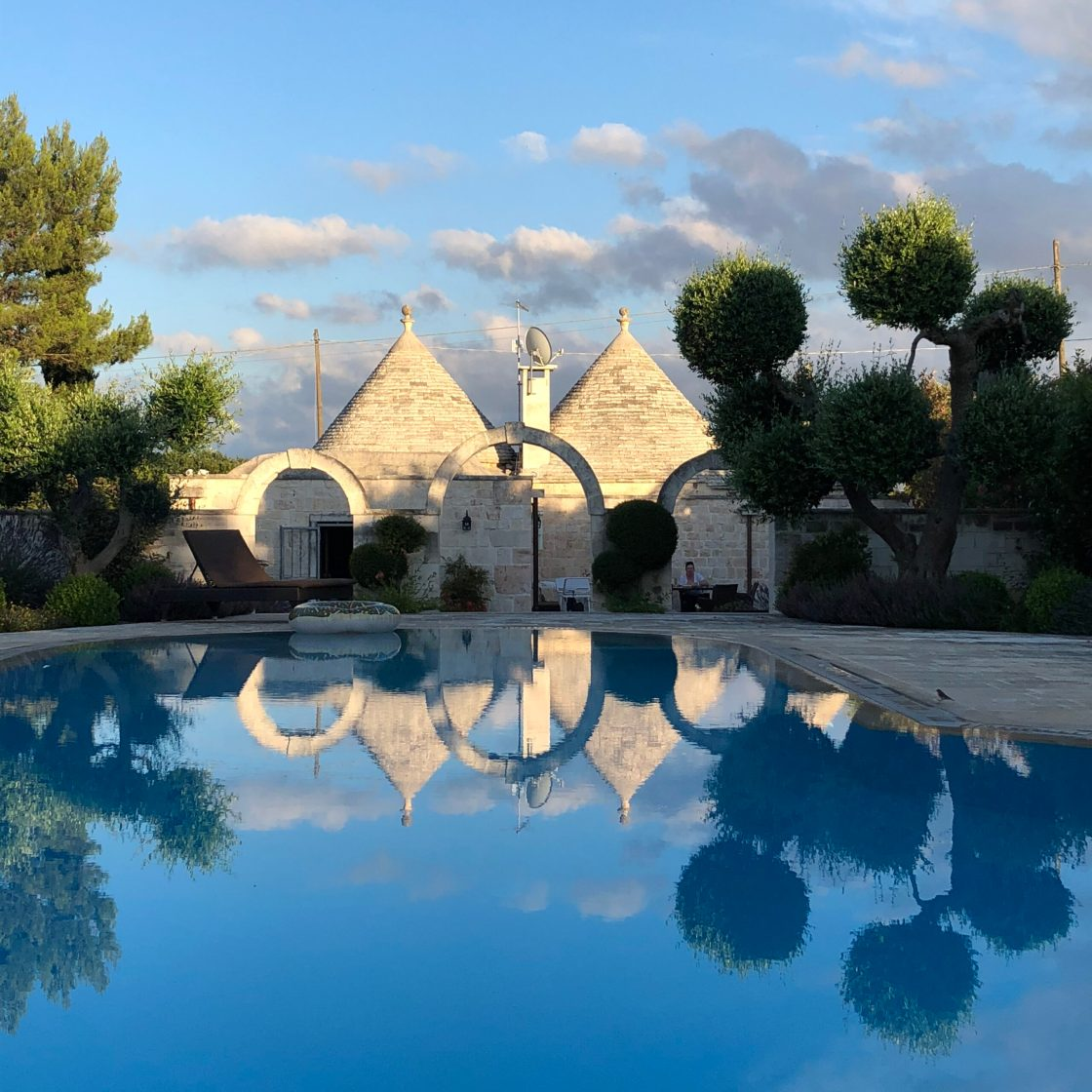 traditional stone house in Puglia, Italy converted to holiday home