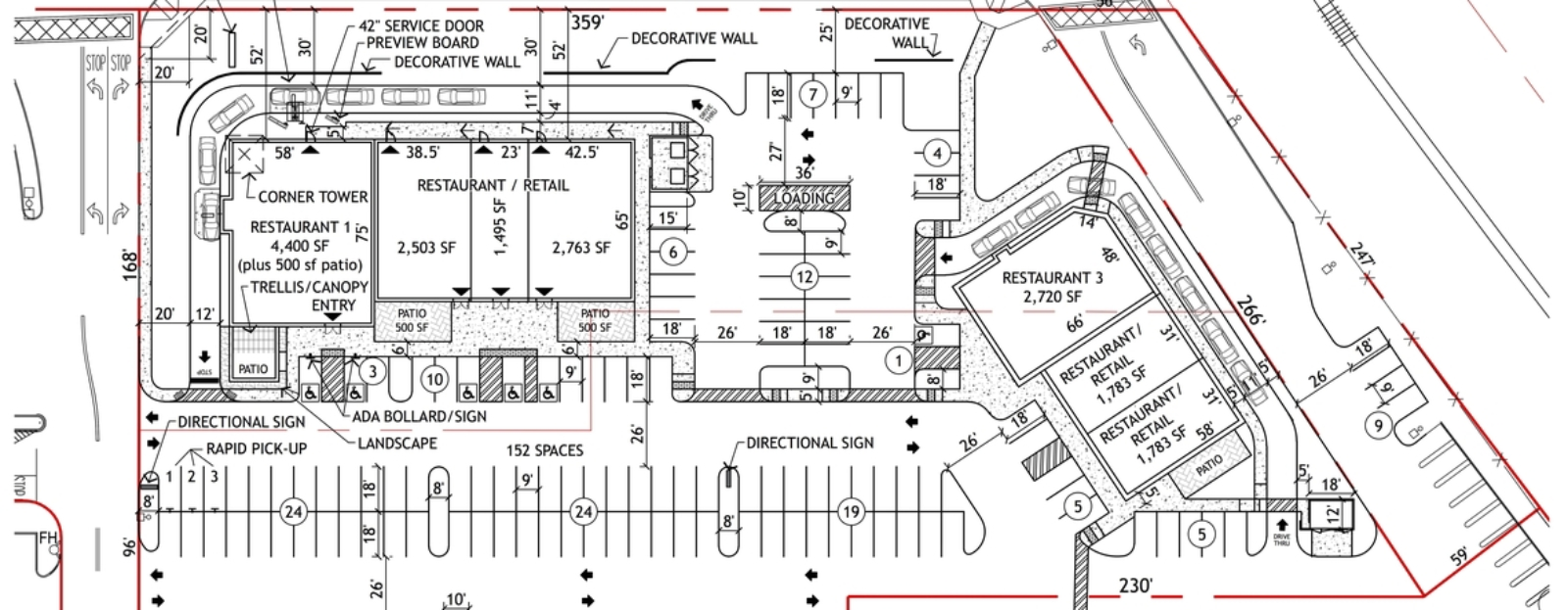 hight resolution of commercial site plan quality site plans with quick turnaround
