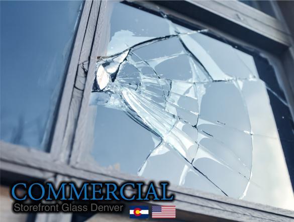 commercial glass denver window door install repair 135