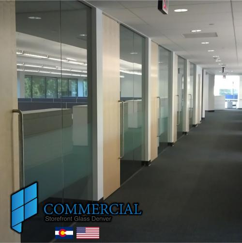 commercial storefront glass denver window door replacement 105