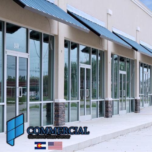 commercial storefront glass denver window door replacement 128