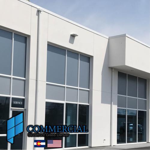commercial storefront glass denver window door replacement 129