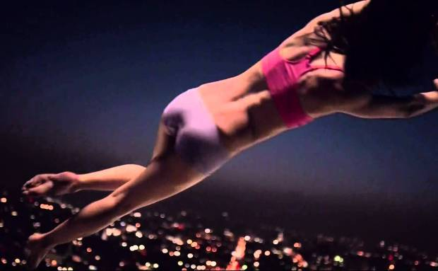 """Fruit of the Loom """"Move To Comfort"""" Trampoline Commercial Song"""