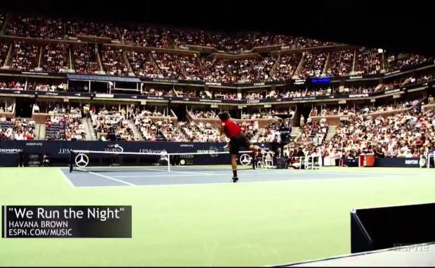 "US Open ""Versus"" Commercial Song"