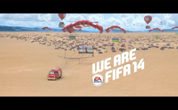We Are FIFA 14 Commercial Song