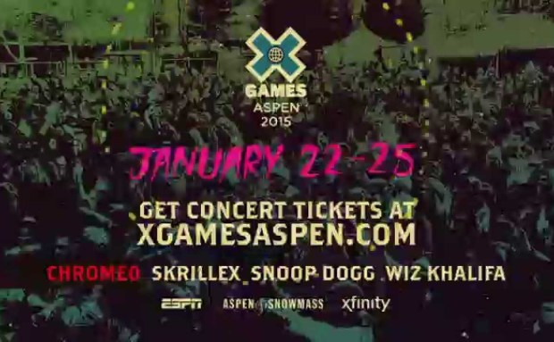X Games Aspen 2015 Commercial Song