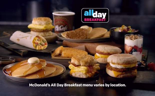 Breakfast All Day | McDonald's Commercial Song