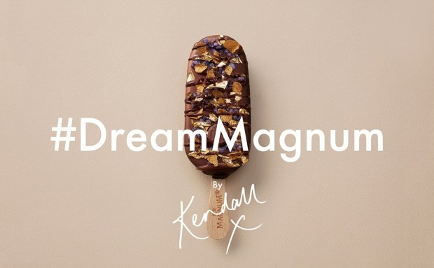 Kendall Jenner | Magnum Commercial Song