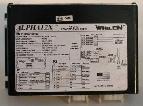 small resolution of whelen siren wiring diagram alpha whelen strobe wiring diagram whelen 295hfs4 wiring diagram model