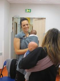 Bordeaux atelier portage bébé