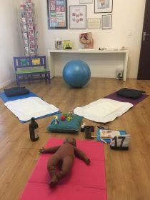 Initiation massage bébé en cabinet de sage femme