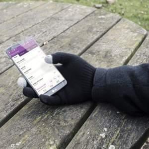utilisation gants tactile