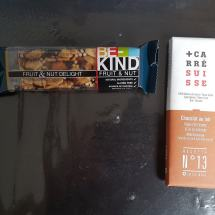 barre et chocolat