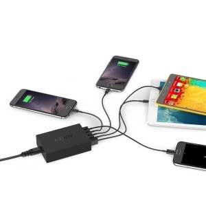 chargeur 5 port usb aukey