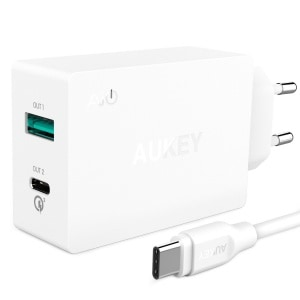 AUKEY Quick Charge 3.0 Chargeur Mural