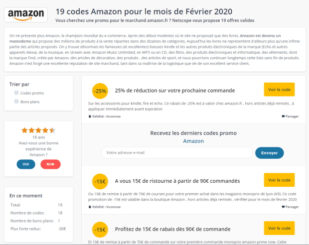 code_promos_amazon_netscope