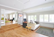 Living room with Timber floor