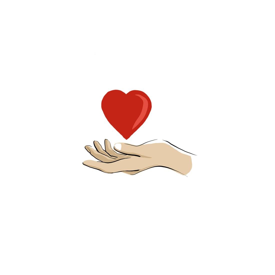 Vertrauen Herz inneren werte