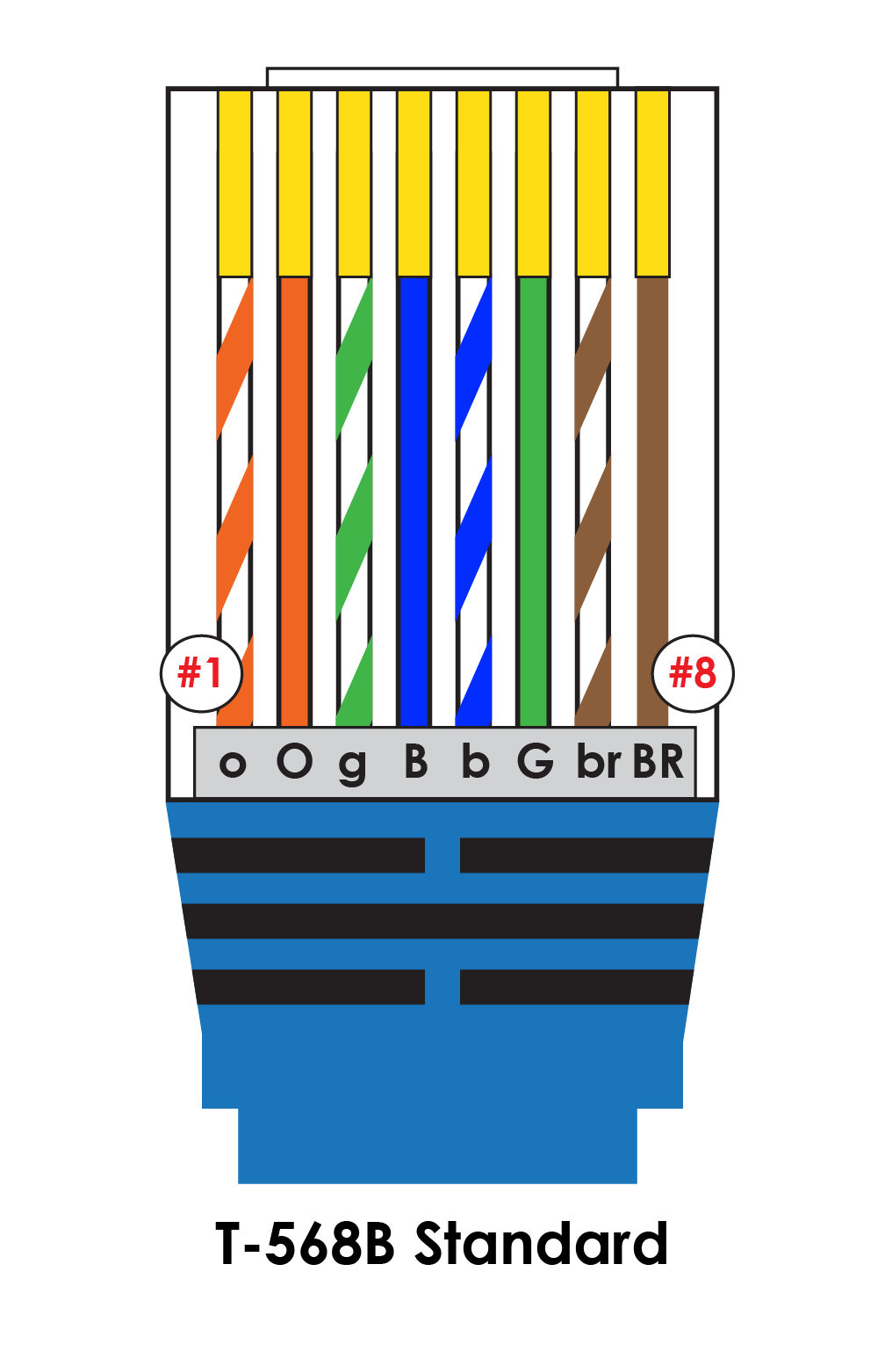 hight resolution of iec t568b pin out