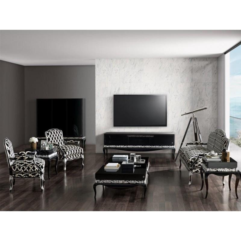 Meuble de salon de luxe compose dun meuble Tv  canap