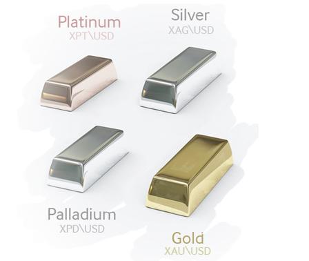 Image result for gold silver platinum palladium