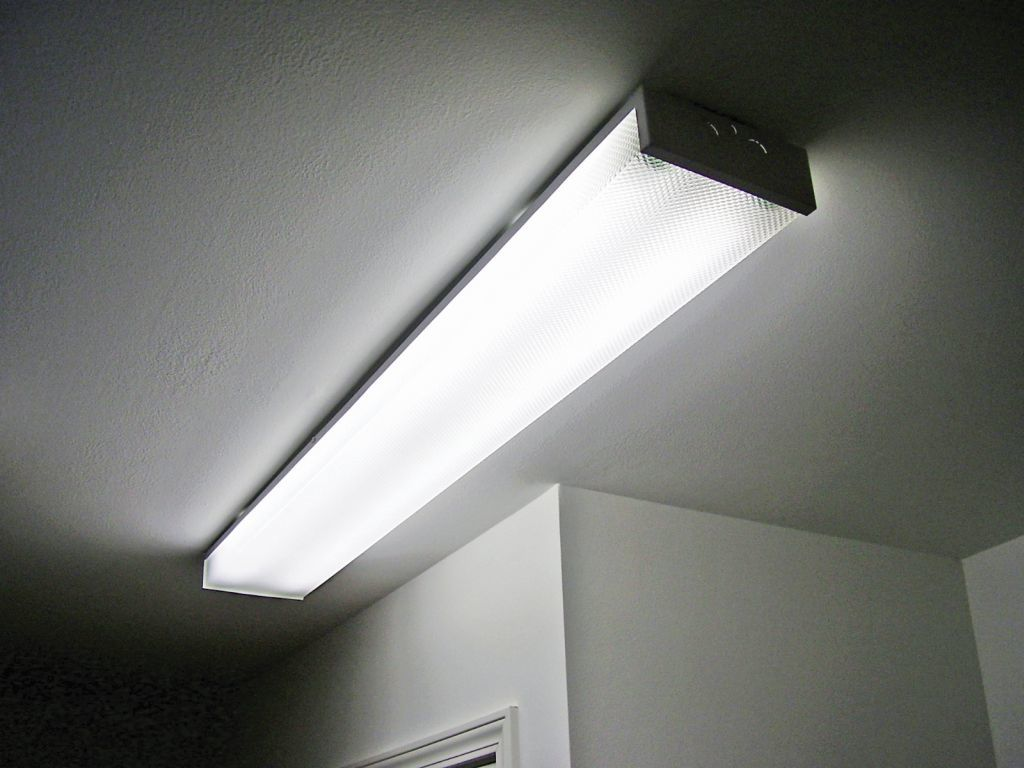 kitchen fluorescent light slide out surface mount | commodore of indiana