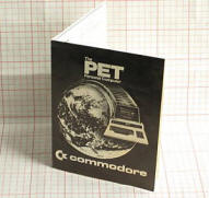 commodore pet folded brochure