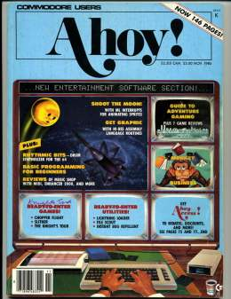 Ahoy! Issue 24 - November 1985 - Entertainment Software - Commodore Vic 20 & C64