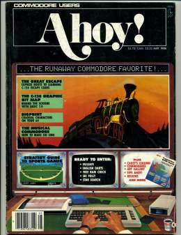 Ahoy! Issue 29 - May 1986 - LazyBasic - Games - Commodore Vic 20 & C64 128 Amiga