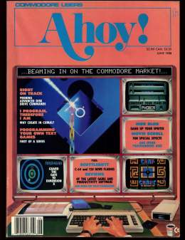 Ahoy! Issue 50 - June 1988 - Commodore Vic 20 & C64 128 Amiga