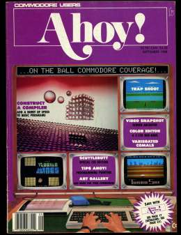 Ahoy! Issue 57 - September 1988 - Construct a Computer -  Commodore Vic 20 & C64 128 Amiga