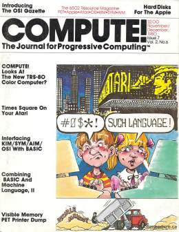 Compute! Magazine Issue #7 - November December 1980