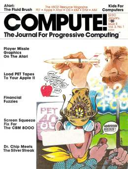 Compute! Magazine Issue #8 - January 1981