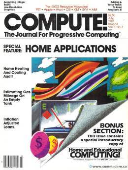 Compute! Magazine Issue #14 - July 1981